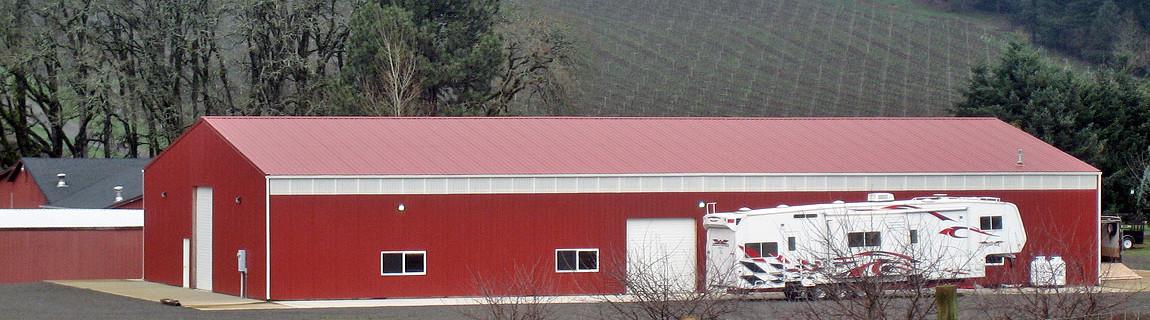 Post frame agricultural builder